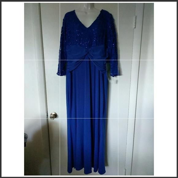 Jcpenney Dresses Nwt Blu Sage Floor Length Dress Poshmark